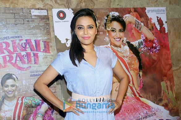 Special screening of Swara Bhaskar's 'Anaarkali Of Aarah'