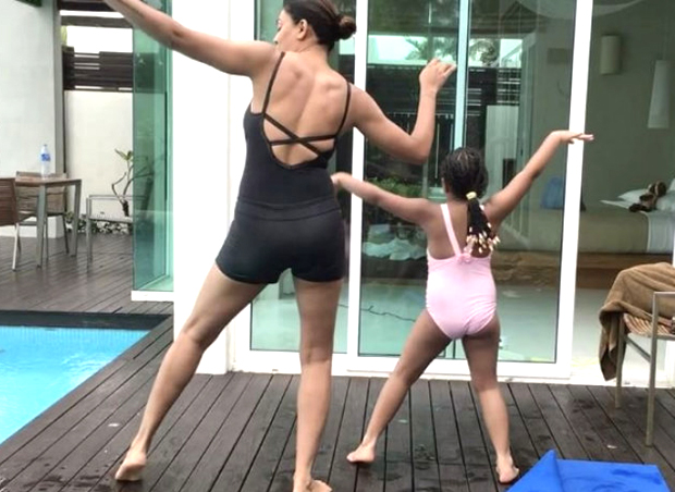 Sushmita and her daughter grooving to Ed Sheeran's 'Shape Of You'