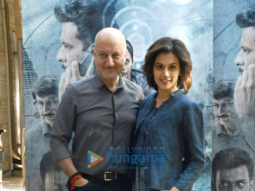 Tapsee Pannu & Anupam Kher promote 'Naam Shabana'