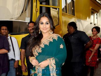 e036506c3f26fa Vidya Balan snapped promoting the film 'Begum Jaan' | Parties ...