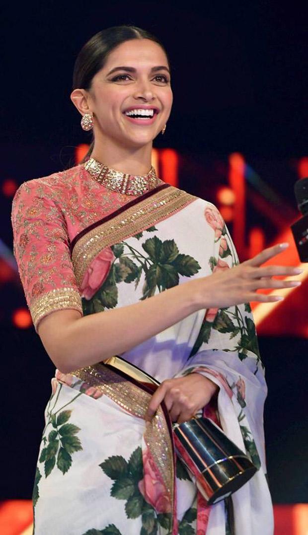 WOW: Deepika Padukone honoured with Entertainment Leader ...