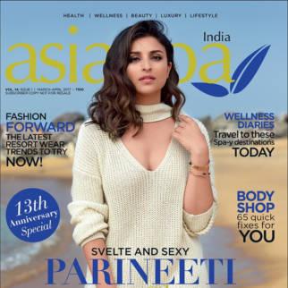 Parineeti Chopra On The Cover Of asiaSpa india, Apr 2017