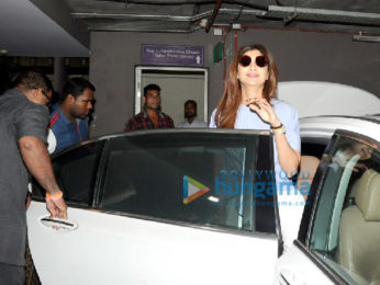 Aamir Khan and Shilpa Shetty snapped at the airport