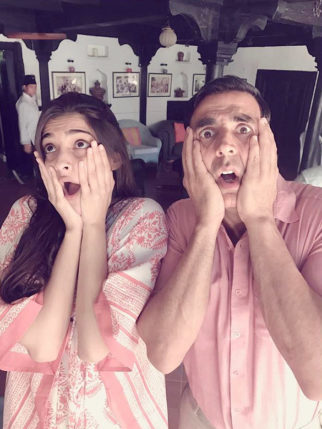 Akshay Kumar and Sonam Kapoor reacted