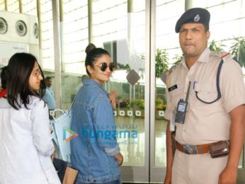 Alia Bhatt leaves for Dubai with her bestie Akansha Ranjan