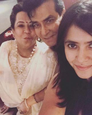 Ekta Kapoor celebrates Superstar father Jeetendra's birthday lavishly