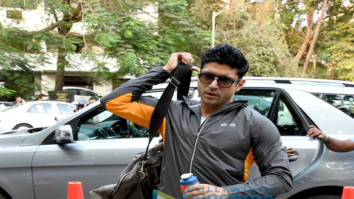 Farhan Akhtar and Amit Gaur snapped at Otters Club for Volleyball match