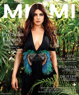Priyanka Chopra On the covers of Miami