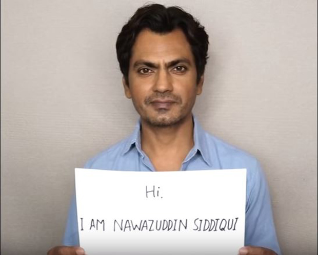 Nawazuddin Siddiqui slams religion based politics in an empowering video