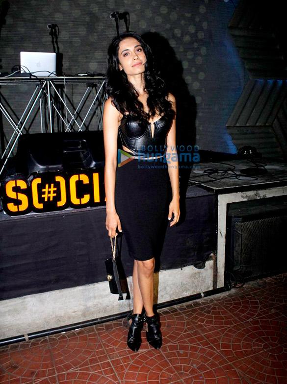 Prateik Babbar and Sara Jane Dias grace Lilly Singh's secret party