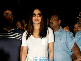 Priyanka Chopra snapped returning from the USA