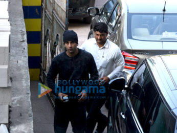 Ranbir Kapoor snapped post his dance rehearsals