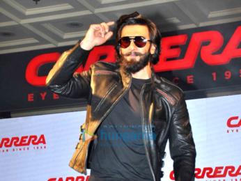 5ffe55ea3e Ranveer Singh unveils  Carrera  eyewear in Delhi