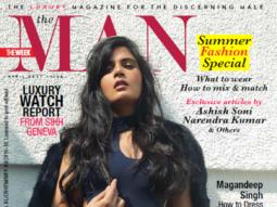 Richa Chadda On The Cover Of The Man