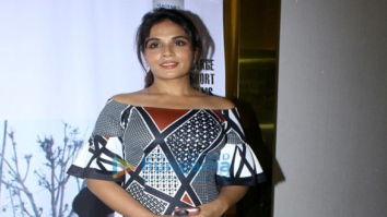 Special screening of Richa Chadda's debut production movie 'Khoon Aali Chithi'