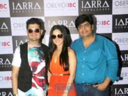 Sunny Leone snapped at a photoshoot for IARRA sunglasses