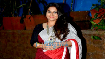 Vidya Balan snapped at 'Begum Jaan' promotions