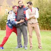 WOW! David Dhawan poses with his Judwaa sons, Prem and Rajaa