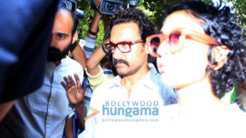 Aamir Khan, Kiran Rao, Kajol and others attend Reema Lagoo's funeral