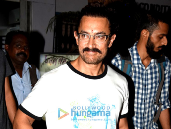 Aamir Khan snapped post collecting his new spectacles in Bandra
