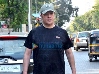 Aditya Pancholi snapped in Bandra