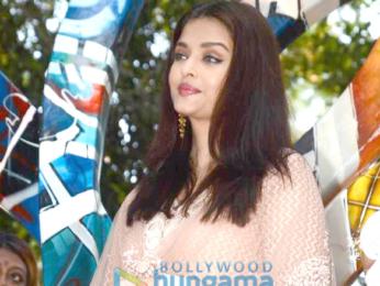 Aishwarya Rai Bachchan inaugurates artist and social activist Rouble Nagi's sculpture titled The Paradise Garden