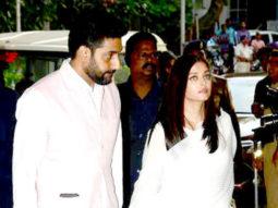 Amitabh Bachchan, Aishwarya Rai Bachchan, Abhishek Bachchan At Vinod Khanna's Prayer Meet vid