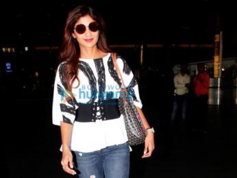 Anushka Sharma, Shilpa Shetty and others at the airport