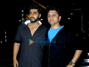 Arjun Kapoor and Mohit Suri grace the cast and crew screening of 'Half Girlfriend'