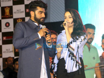Arjun Kapoor and Shraddha Kapoor at 'Half Girlfriend' musical concert