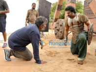 On The Sets Of The Movie Bahubali: The Conclusion