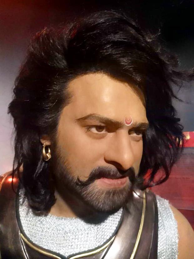 Baahubali star Prabhas beats  Rajinikanth and Kamal Haasan; becomes first south actor to have his statute at Madame Tussauds features