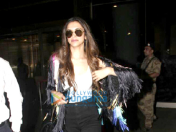 Deepika Padukone makes stylish arrival in Mumbai after Cannes 2017