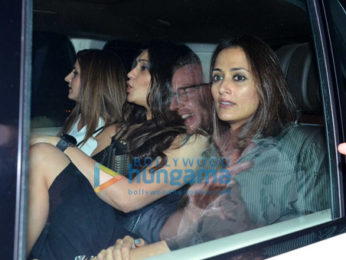 Hrithik Roshan, Sussanne Khan, and others snapped at Bastian