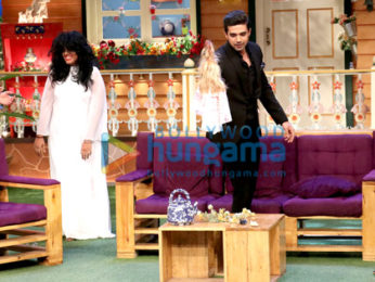 Huma Qureshi & Saqib Saleem promote their film Doobara on The Kapil Sharma Show