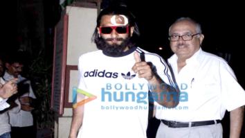 Injured Ranveer Singh snapped post getting treatment at Lilavati Hospital in Mumbai