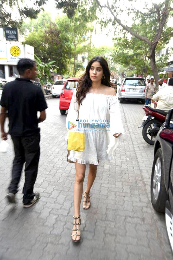Jhanvi Kapoor snapped at The Kitchen Garden