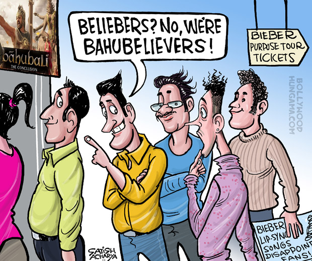 Bollywood Toons: Justin Bieber disappoints Beliebers