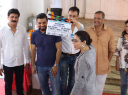 Kajol gives the first clap for husband Ajay Devgn's Marathi film starring Nana Patekar