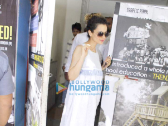 Kangna Ranaut snapped at Pali Hill in Bandra