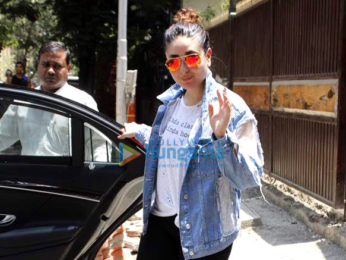 Kareena Kapoor Khan snapped post her Yoga session