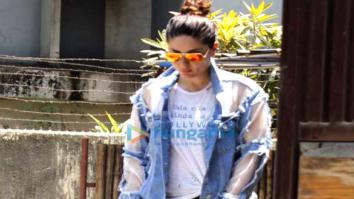 Kareena Kapoor Khan snapped post her Yoga session