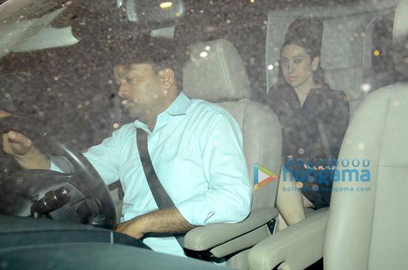 Karisma Kapoor, Soha Ali Khan, Kunal Khemu snapped post dinner at Saif Ali Khan & Kareena Kapoor Khan's house
