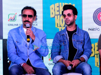 Launch of the song 'Tera Hoke Rahoon' from the film Behen Hogi Teri