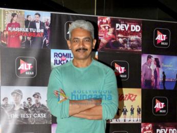 Nimrat Kaur, Rahul Dev and Atul Kulkarni promote 'Alt Balaji's web series titled 'The Test Case'