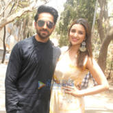 Parineeti Chopra and Ayushmann Khurrana promote their film 'Meri Pyaari Bindu' on the sets of TV show, Shakti - Astitva Ke Ehsaas Ki