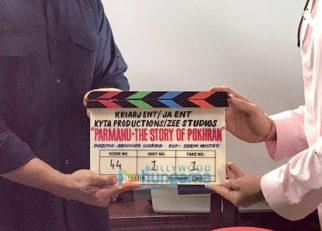 On The Sets Of Parmanu - The Story of Pokhran