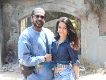 Prateik Babbar and Elli Avram shoot for Rocky S new campaign in Mumbai