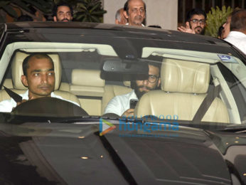 Prayer meet of Sonam Kapoor's grand mother Duru Bhambhani in Bandra