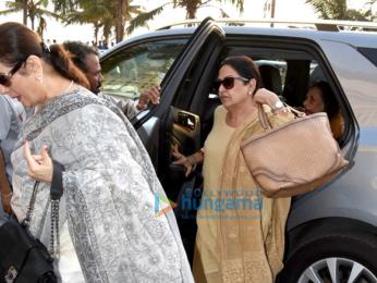 Prayer meet of Sonam Kapoor's grand mother Duru Bhambhani in Bandra